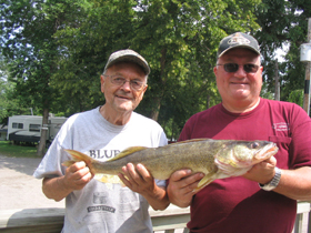 Walleye Fever for Ed & Kim