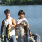 brothers caught walleye