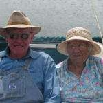 old couple in a boat